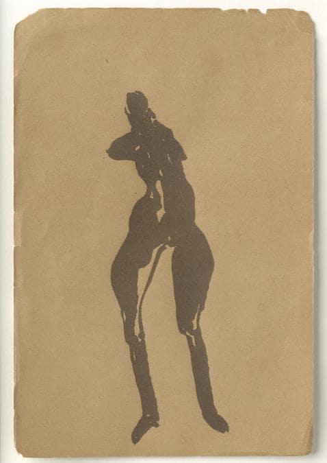 Joseph Beuys. Foto: Ulrich Ghezzi  «Weibliche Figur»1954. Per gentile concessione della Galerie Thaddaeus Ropac, Londra, Parigi, Salisburgo (Joseph Beuys Estate / VG-Bildkunst, Bonn, 2020)