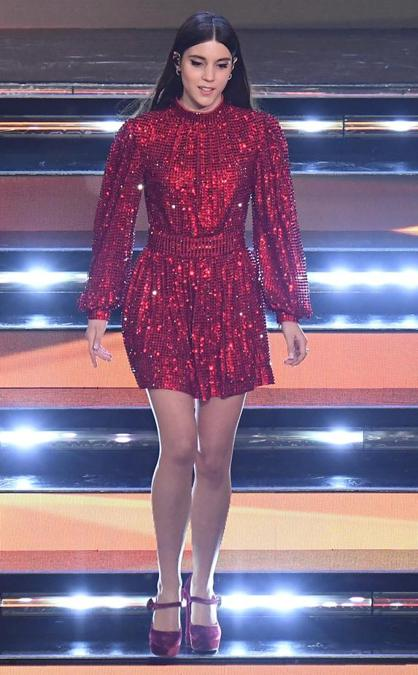 Greta Zuccoli in Dolce&Gabbana