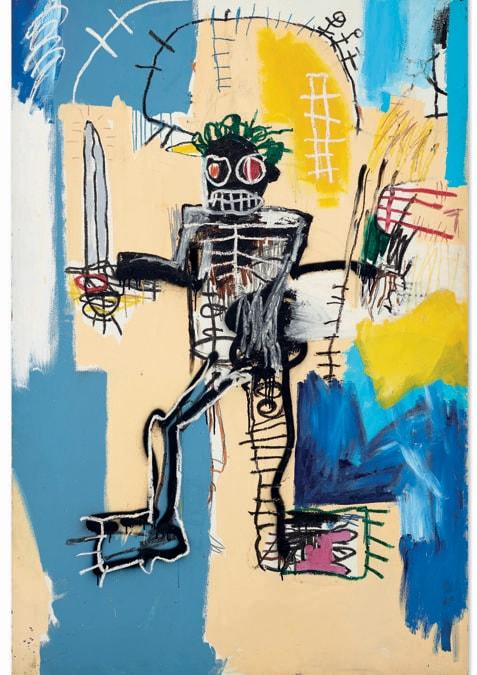 Basquiat_Warrior