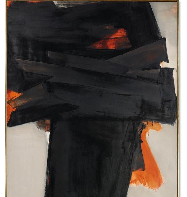 Pierre Soulages - Peinture 202 x 159 cm 3 Juillet 1965