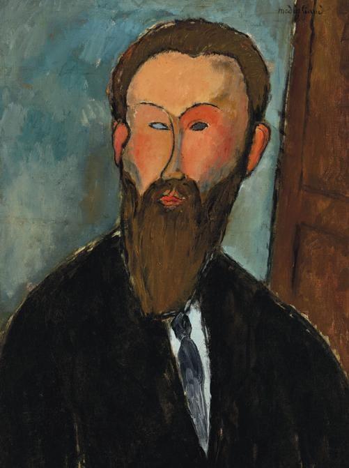Amedeo Modigliani - Portrait du Photographe Dilewski.
