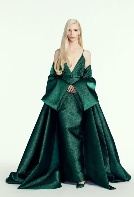 Anya Taylor Joy in Dior Haute Couture