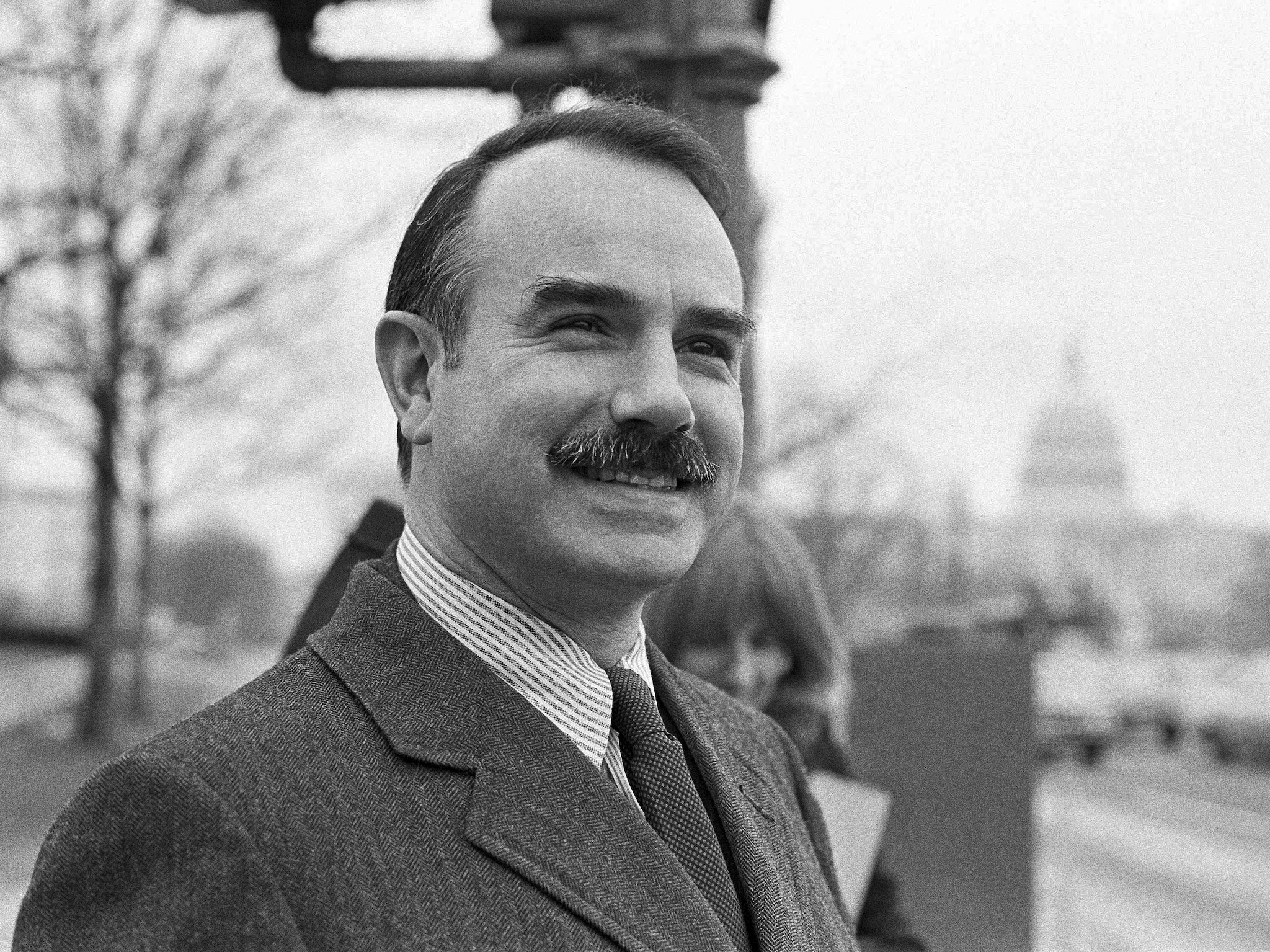 G. Gordon Liddy. (AP Photo/William A. Smith, File)