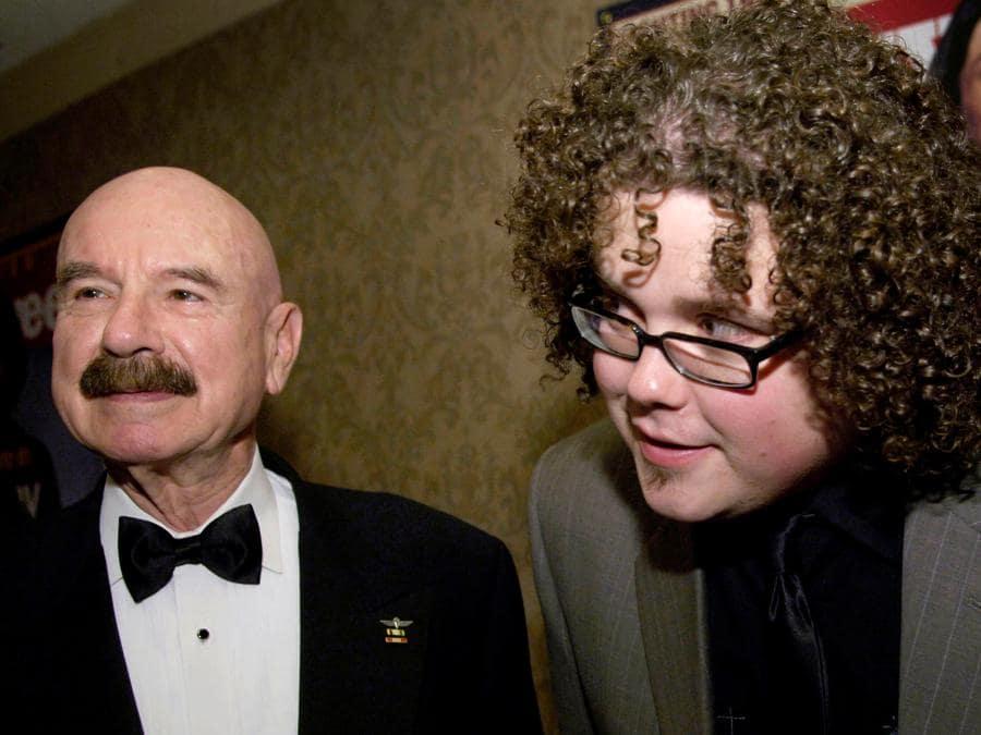 G. Gordon Liddy e Chris Sligh ( REUTERS/Jonathan Ernst/File Photo)