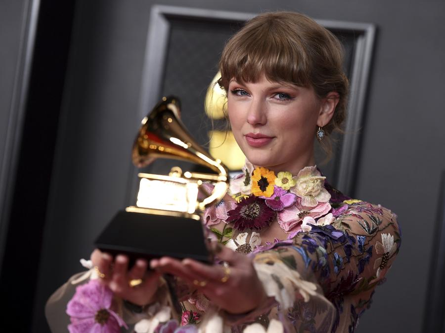 Taylor Swift . (Photo by Jordan Strauss/Invision/AP)