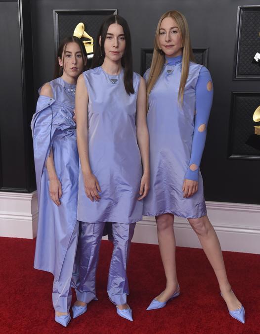 Alana Haim,  Danielle Haim e Este Haim (Photo by Jordan Strauss/Invision/AP)