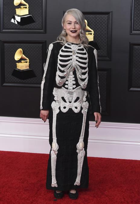 Phoebe Bridgers . (Photo by Jordan Strauss/Invision/AP)