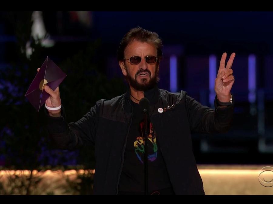 Ringo Starr. (CBS/Handout via REUTERS)