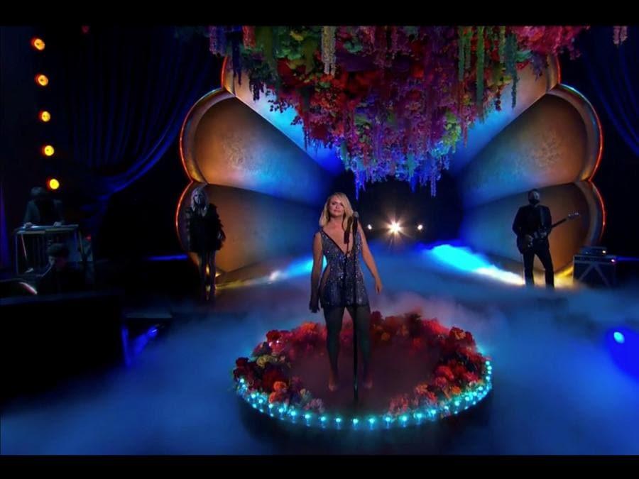 Miranda Lambert  (CBS/Handout via REUTERS)