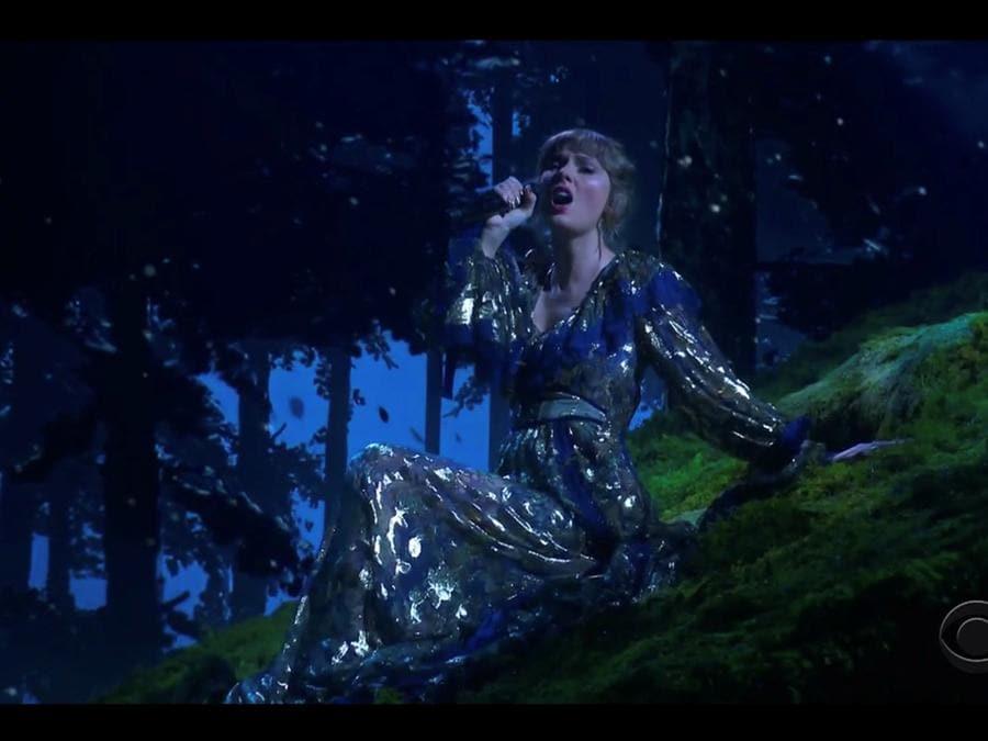 Taylor Swift (CBS/Handout via REUTERS)