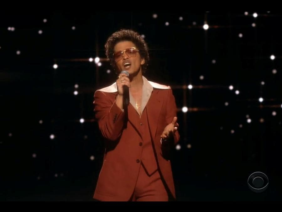 Bruno Mars ( CBS/Handout via REUTERS)