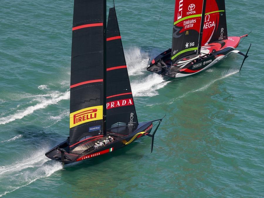 Luna Rossa Prada Pirelli Team e  Emirates Team New Zealand