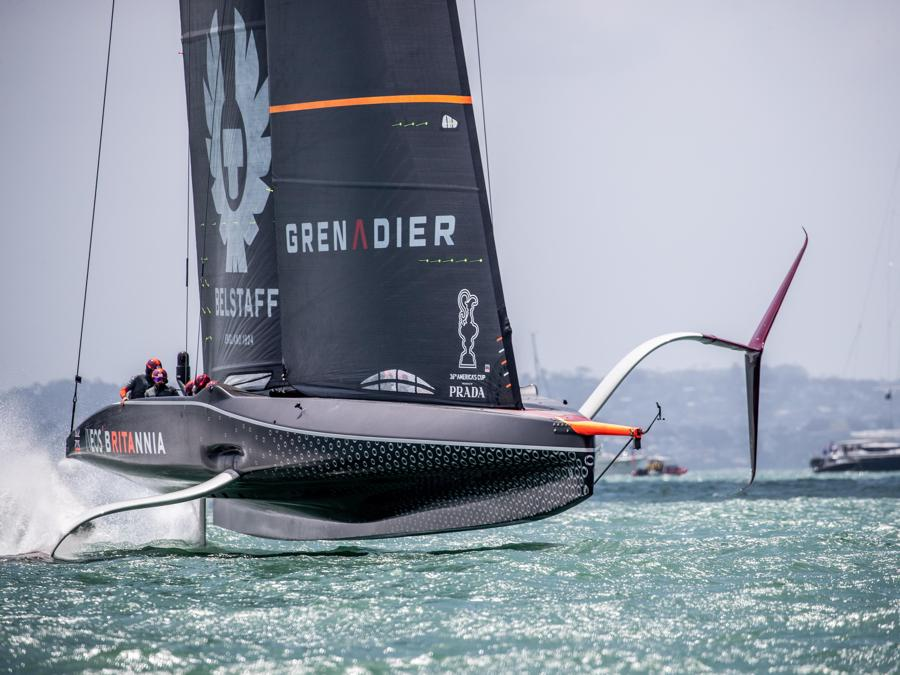 America's Cup World Series Second Day of Racing