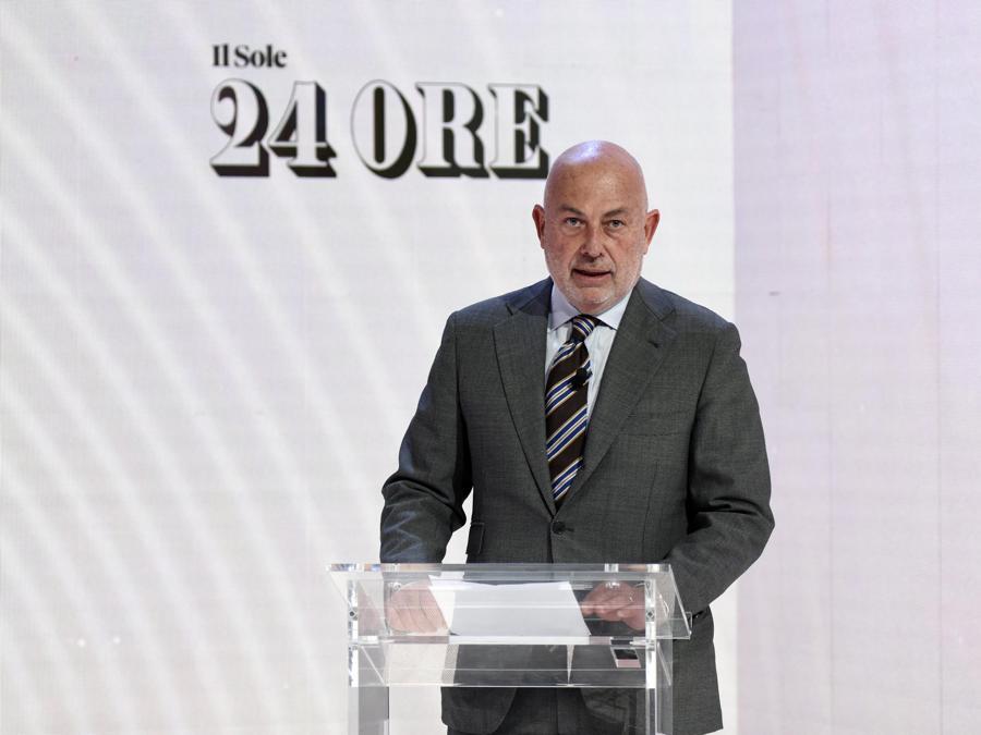 Il Presidente del Gruppo 24 Ore, Edoardo Garrone (Foto IPP/Stucchi - Reshape the world)