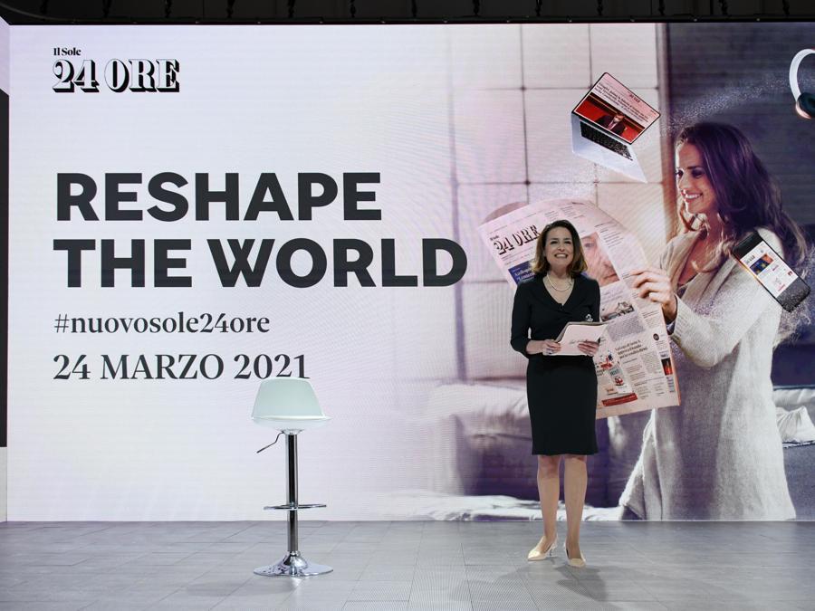 Rosalba Reggio, giornalista Il Sole 24 Ore (Foto IPP/Stucchi - Reshape the world)