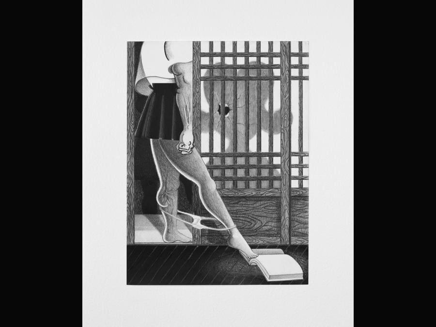 Cindy Ji Hye Kim «Mother Tongue» 2020, per gentile concessione di Francois Ghebaly e dell'artista