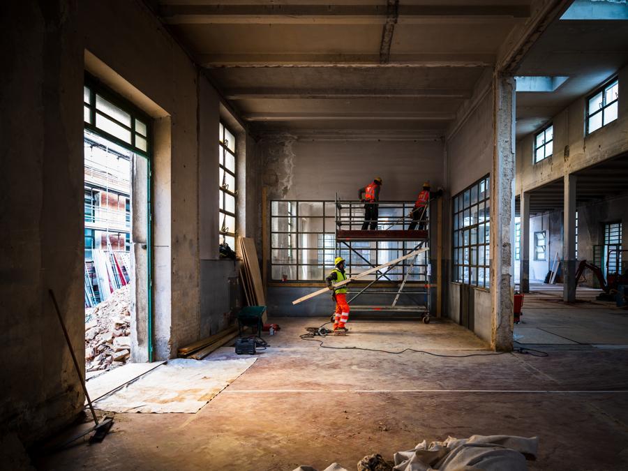 Progetto di recupero della Manifattura Tabacchi di Firenze. (Foto di Ugo De Berti - UDB Studio)