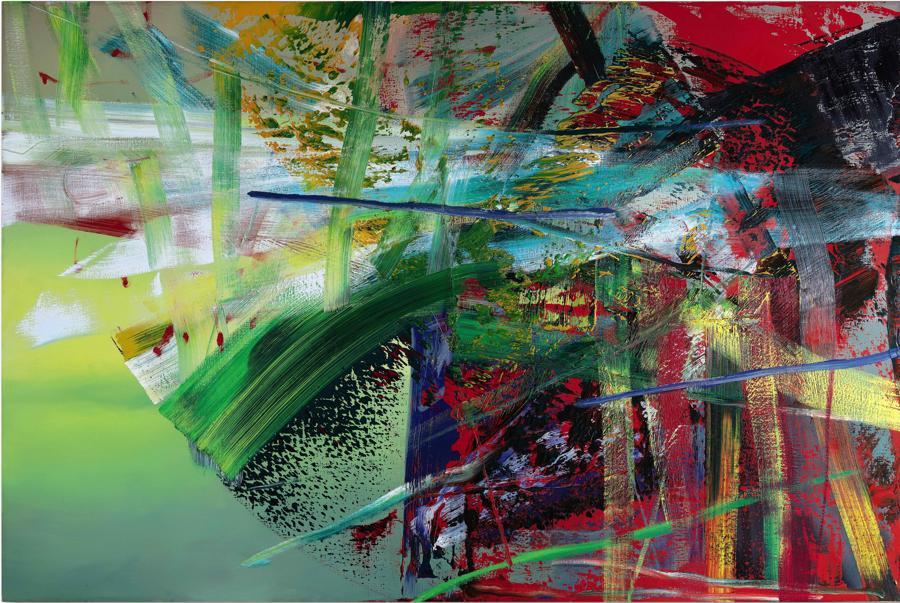 Gerhard Richter - Schwefel (Sulphur).jpgGerhard Richter Schwefel (Sulphur). 1985Estimate: 80.000.000 - 100.000.000 HKDLot sold:118.115.000 HKD