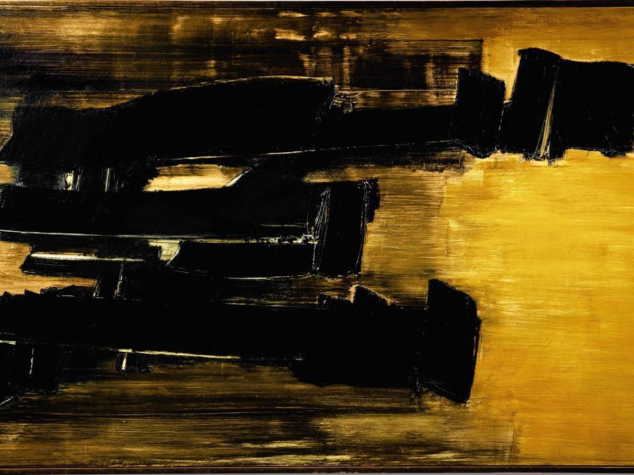 Pierre Soulages - Peinture 125 x 202 cm. 30 Octobre 1958.jpgPierre Soulages30 Octobre 1958Peinture 125 x 202 cm. Estimate: 38.000.000 - 58.000.000 HKDLot sold: 48.026.000HKD