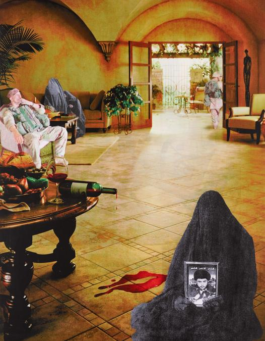 Matha Rosler, Wine (Muktada) (Bringing the War Home-House Beautiful, New Series), 2004, est. £6,000-8,000