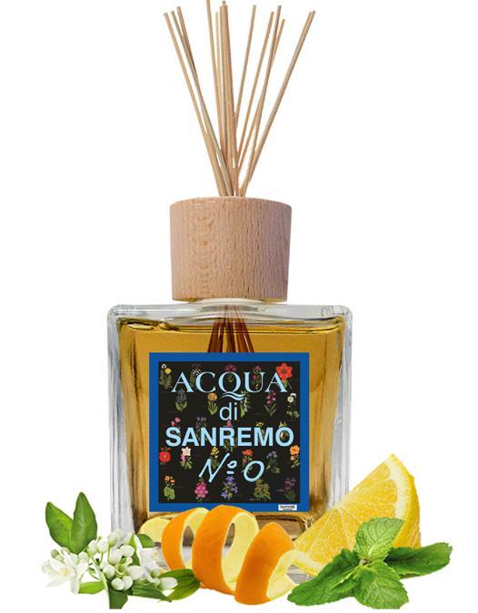 Daphné Acqua Di Sanremo N.0 , un profumo senza tempo realizzato con agrumi della Riviera, per una freschezza immediata e persistente