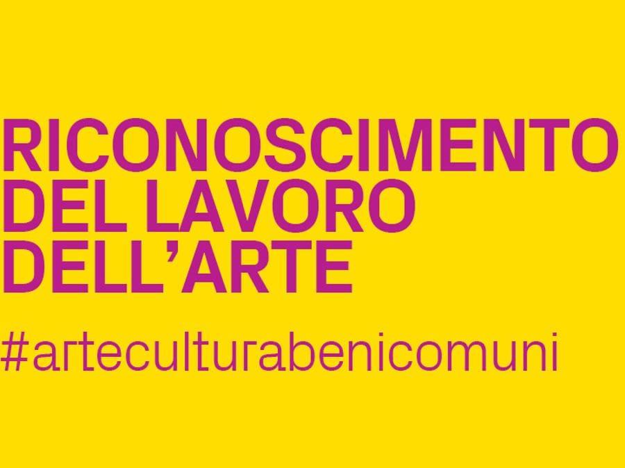 Campagna #arteculturabenicomuni, promossa dal Forum dell'Arte Contemporanea Italiana, 10 ottobre 2020