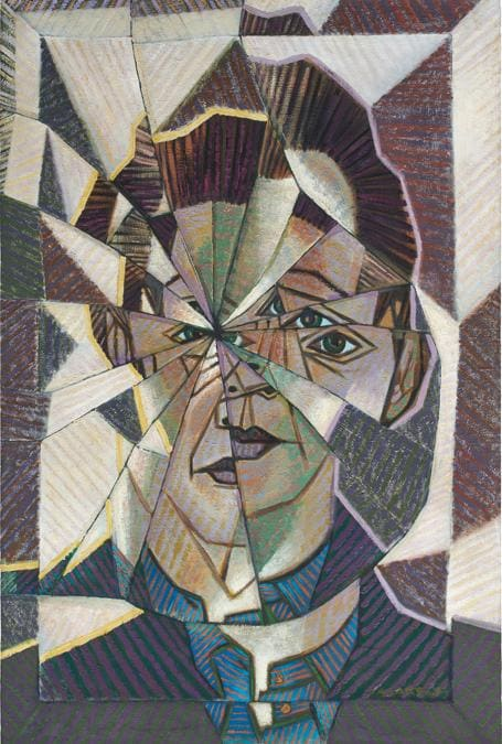 Victor Vasarely, Autoportrait, signed 'VASARELY' lower right oil on canvas, 120 x 80 cm (47 1/4 x 31 1/2 in.). Painted in 1944, this work is accompanied by a certificate of authenticity signed by Pierre Vasarely and dated 5 October 2017. The authenticity of the present work has been confirmed by Pierre Vasarely, President of the Fondation Vasarely, universal legatee and the moral right holder of Victor Vasarely. This work will be included in the forthcoming Catalogue Raisonné de l'Oeuvre Peint de Victor Vasarely, which is currently being compiled by the Fondation Vasarely, Aix-en-Provence. Estimate £180,000 - 250,000. SOLD FOR £296,100 (Courtesy: Phillips)