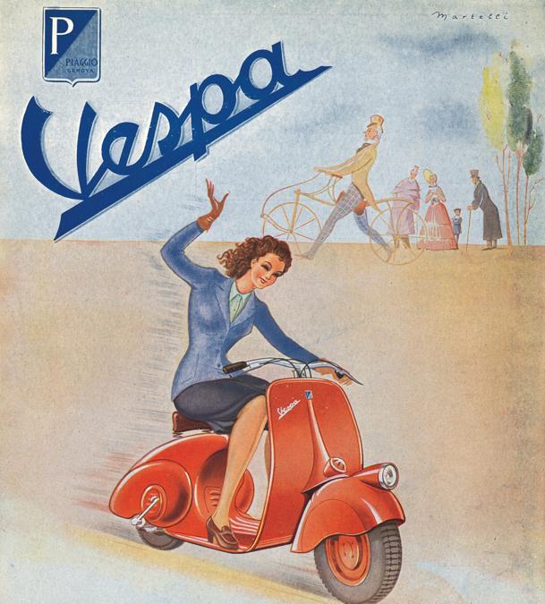 1946 Depliant Vespa