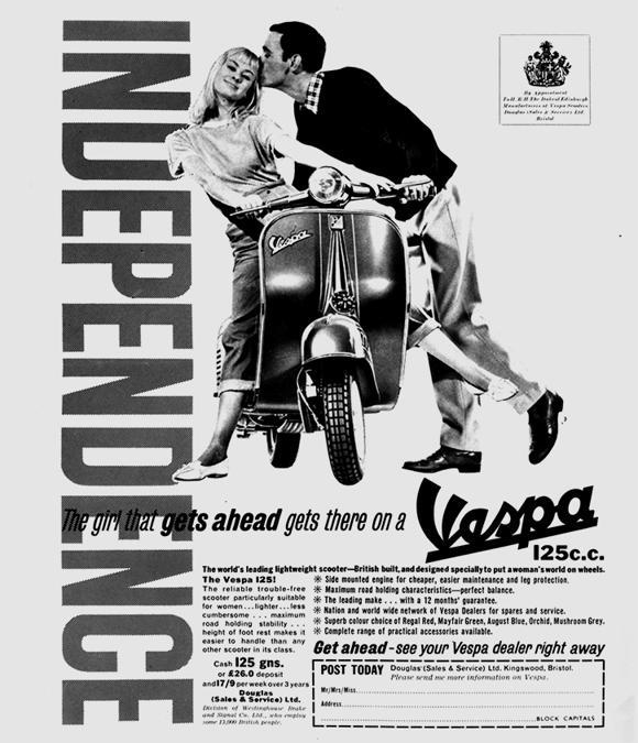 1967 Vespa USA