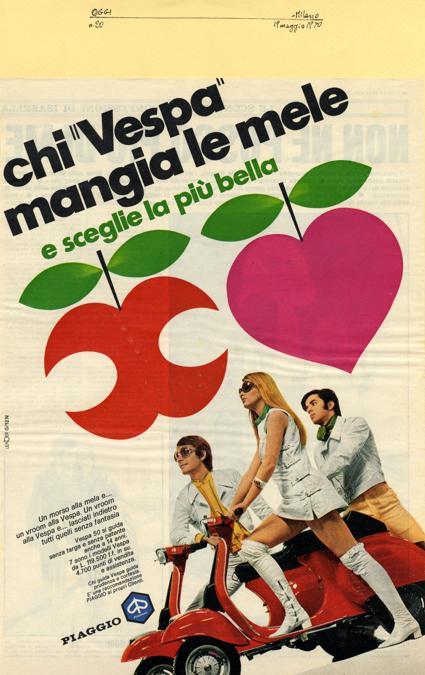 1970 Chi Vespa mangia le mele