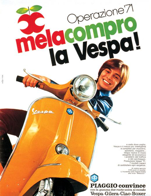 1971 Mela compro la Vespa