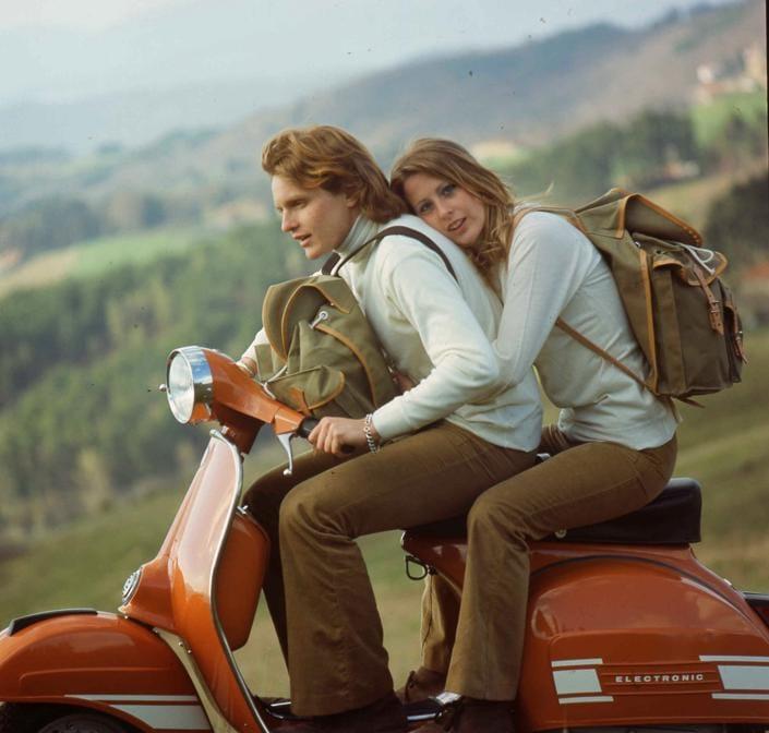 1973  Vespa Rally