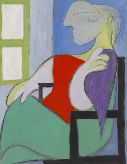 Picasso, «Femme assise près d'une fenêtre -  Marie Thérèse»)