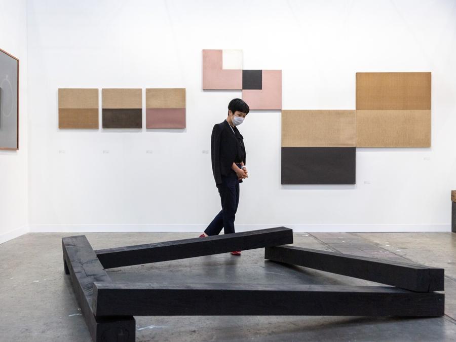 Lo stand di Gallery Kogure ad Art Basel Hong Kong 2021, Courtesy Art Basel