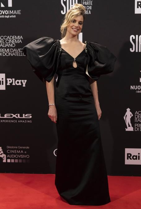 Micaela Ramazzotti in Gucci. (Imago ImagesEmmefoto) Reuters