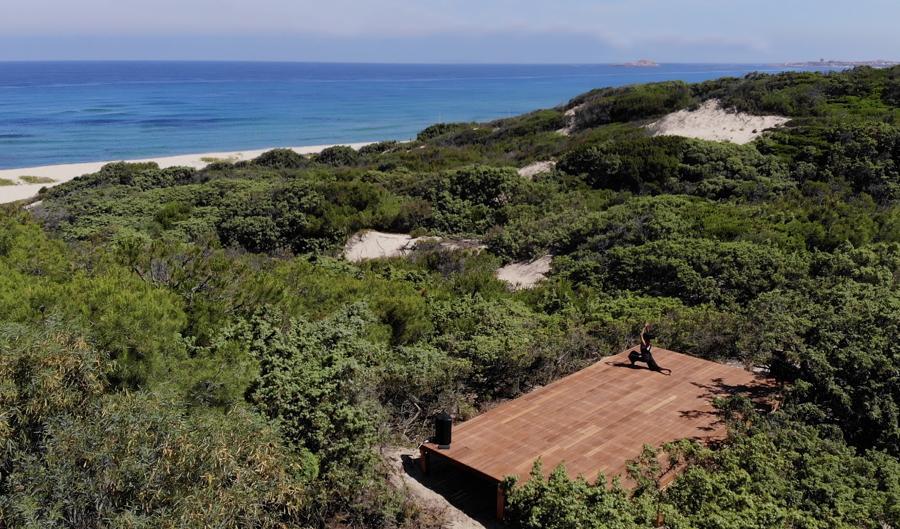 Resort & SPA Le Dune, yoga pedana