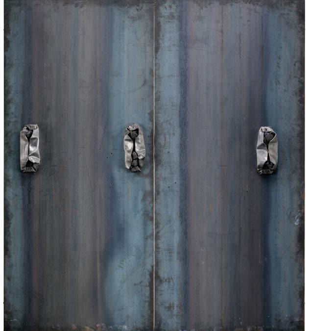 Jannis Kounellis, Untitled, 1989 (courtesy di Sotheby's)