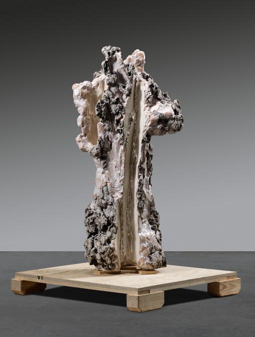 Leoncillo, San Sebastiano Bianco, 1962 (courtesy di Sotheby's)