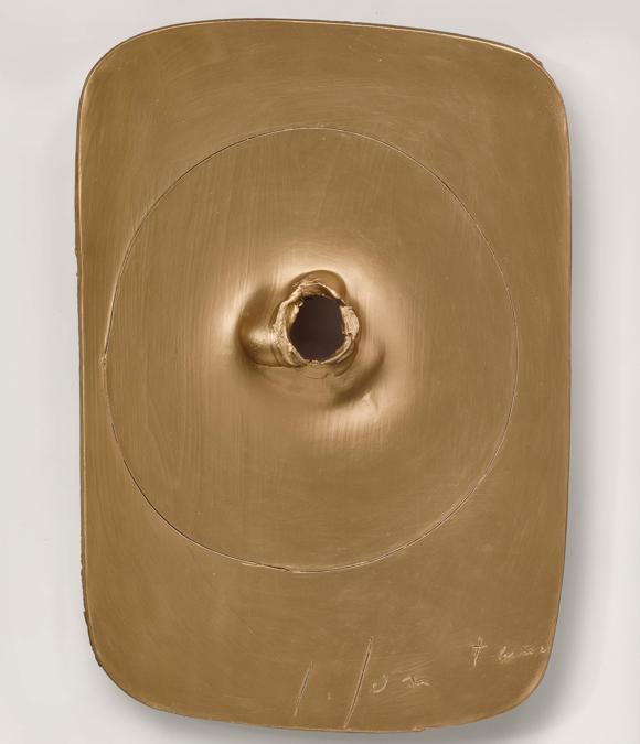 Lucio Fontana, Concetto Spaziale, 1962-63 (courtesy di Sotheby's)