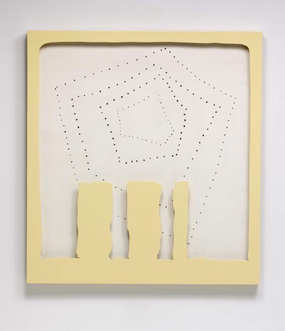 Lucio Fontana, Concetto Spaziale, Teatrino, 1965 (courtesy di Sotheby's)