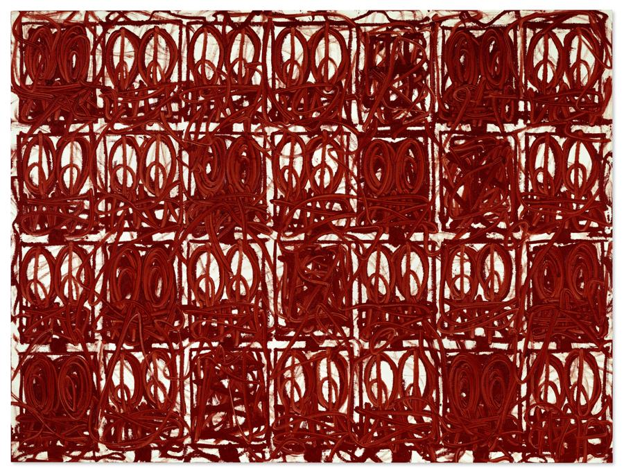 Lot 13A, Johnson, Anxious Red Painting December 18th (per gentile concessione di Christie's)