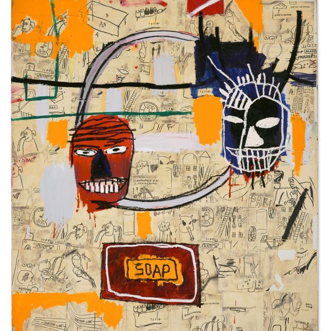 Lot 14A, Basquiat, Untitled (Soap) (per gentile concessione di Christie's)