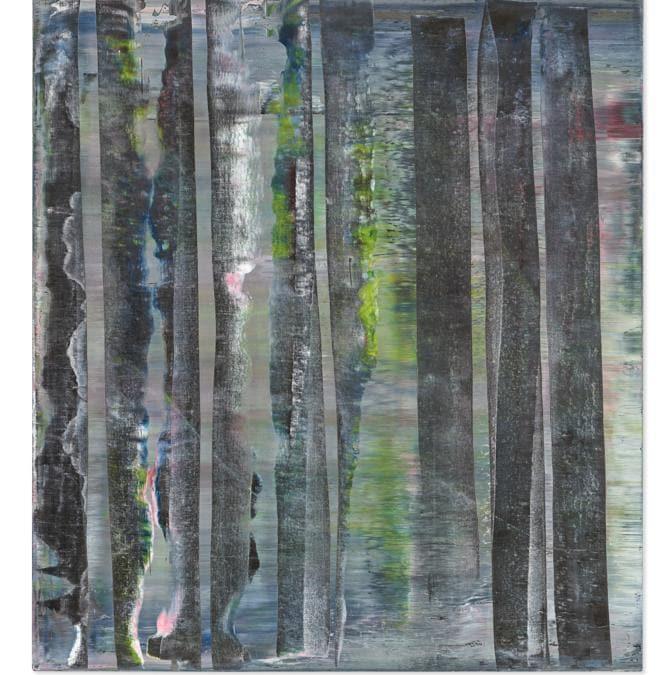 Lot 21A, Richter, Abstraktes Bild (per gentile concessione di Christie's)