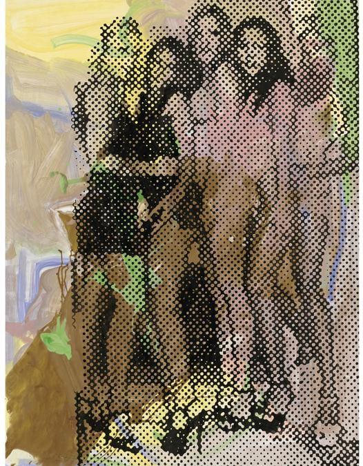 Lot 35A, Polke, Ohne Titel (Bunnies) (per gentile concessione di Christie's)