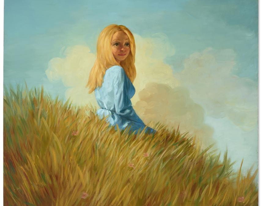Lot 37A, Currin, Girl on a Hill (per gentile concessione di Christie's)