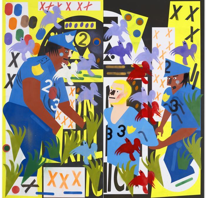 Lot 6A, Abney, Untitled (XXXXXX) (per gentile concessione di Christie's)