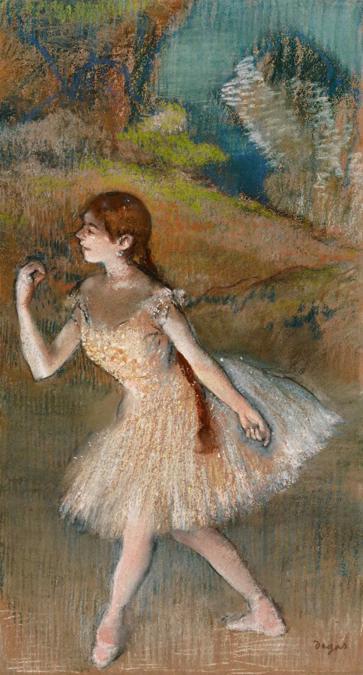 Edgar Degas, Danseuse, stima 10-15 milioni di dollari, Courtesy Sotheby's