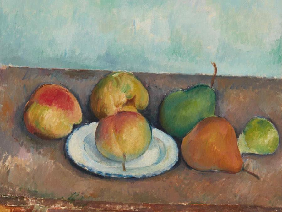 Paul Cezanne, Nature morte pommes et poires, stima 25-35 milioni di dollari, Courtesy Sotheby's