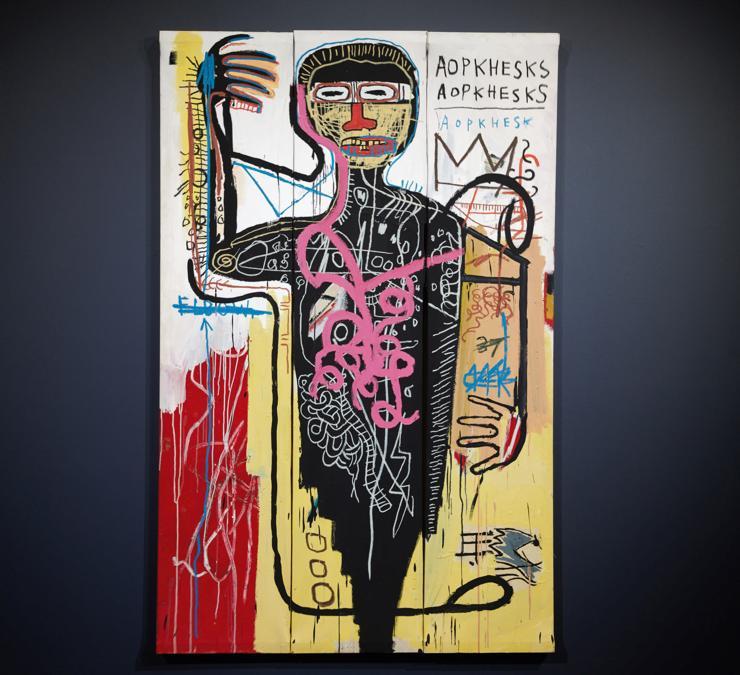 Jean-Michel Basquiat, Versus Medici, stima 35-50 milioni di dollari, Courtesy Sotheby's