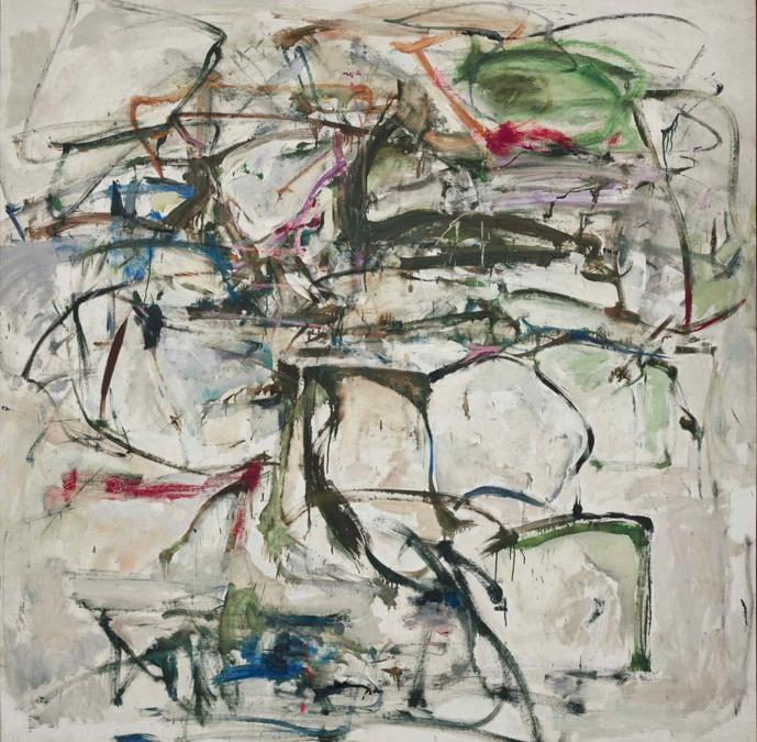 Joan Mitchell, Untitled, stima 6-8 milioni di dollari, Courtesy Sotheby's